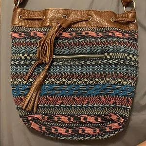 Aeropostale Cross Body Tribal Bag